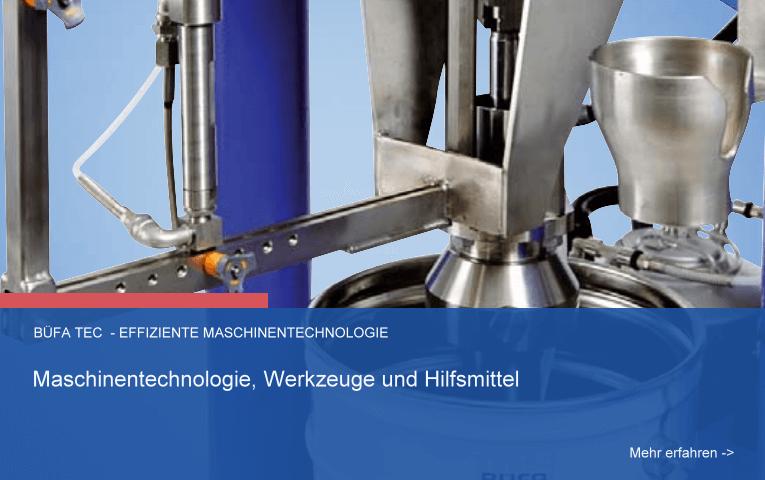 Maschinentechnologie, Werkzeuge und Hilfsmittel